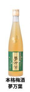 熊本県|人吉市|大和一酒造元|球磨焼酎|米焼酎|焼酎|温泉焼酎||梅酒|本格梅酒|夢万葉|万葉集